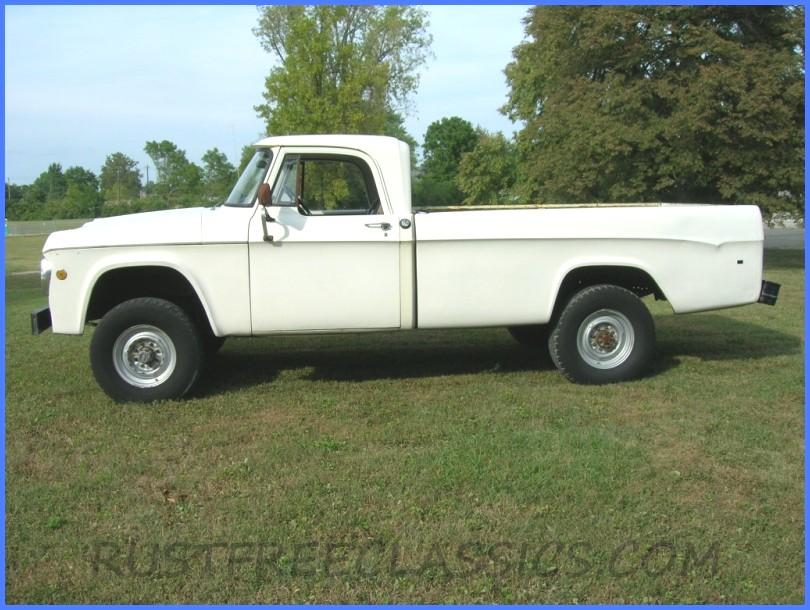 1969 Dodge W100 4x4 Power Wagon 12 Ton Truck For Sale ...